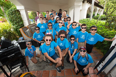 November 14th, 2015 Rendezvous  BBQ with Boys and Girls Club Members at Fisher Island