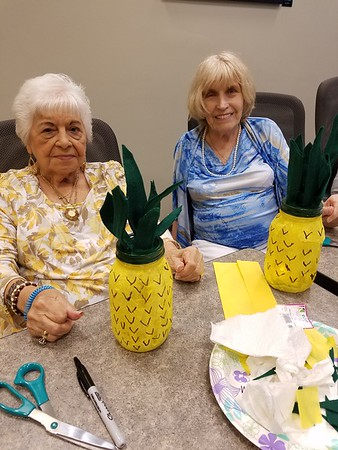 Glue Gun Gang: Pineapple Luminaries August 2018