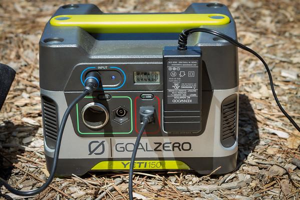 Goal Zero Yeti 150 Solar Generator