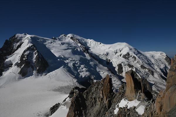 Mont Blanc August 2018