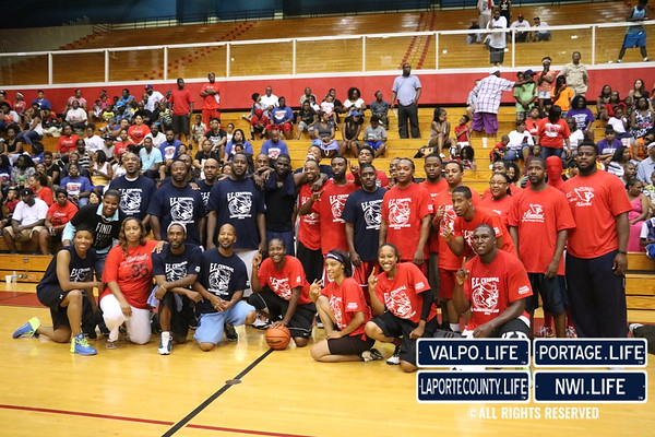 2015 East Chicago Old School vs. New School Basketball Game