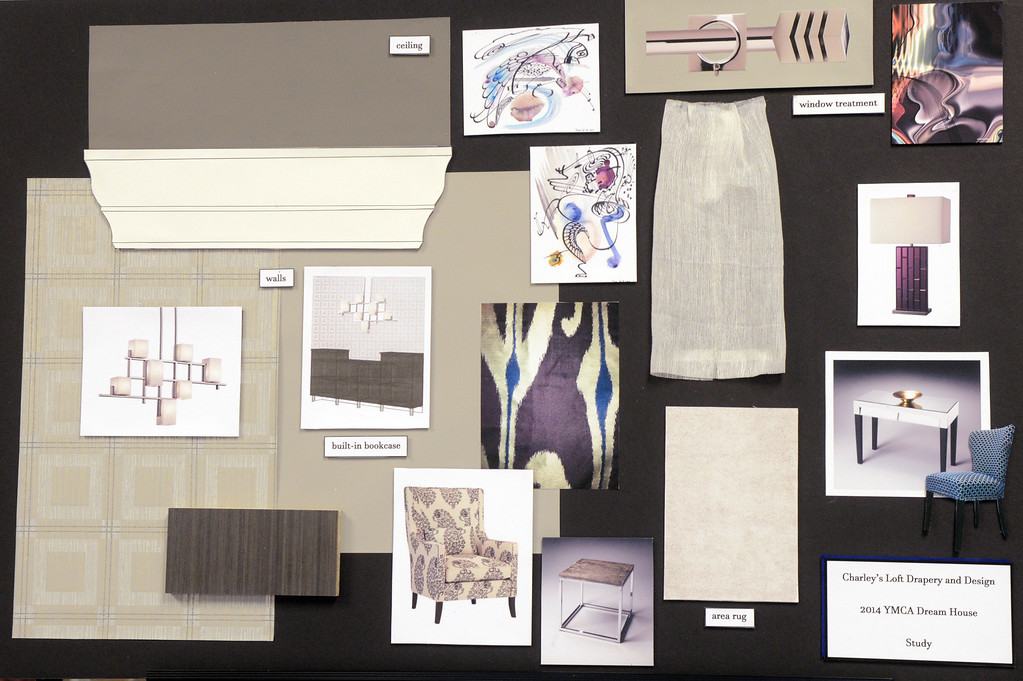. Duncan Scott/DScott@News-Herald.com Design elements of the study by Charley\'s Loft for the 2014 Lake County YMCA Dream House.