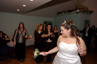 Michael & Nettie Garter & Bouquet Toss