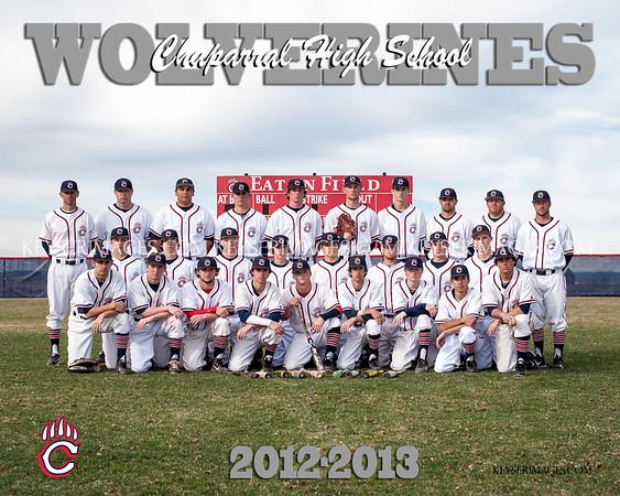 2013 Chaparral Baseball