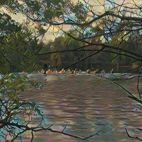 A beautiful morning for a run along the Colorado River #sxsw2017 #sxsw