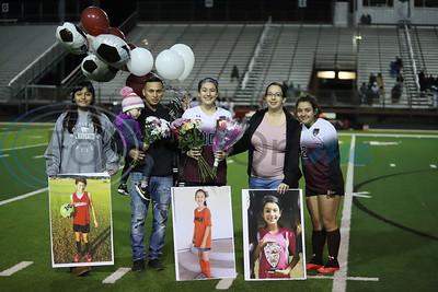 Whitehouse High School Girls' Soccer vs Marshall High School - SENIOR NIGHT by Troy Jackson