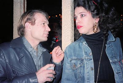 Mountaineer's Club at Vasmay Lounge, NYC, 1986