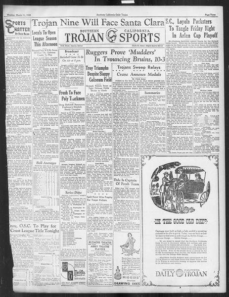 Daily Trojan, Vol. 26, No. 92, March 11, 1935