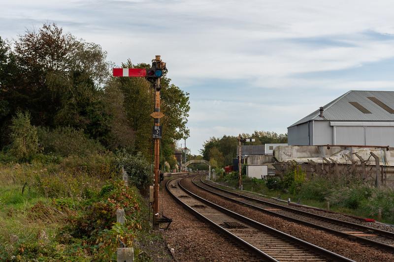 Semaphore signalling at Brundall