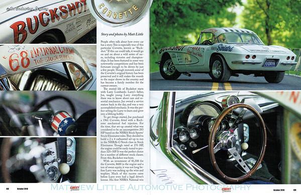 Buckshot 1961 Corvette