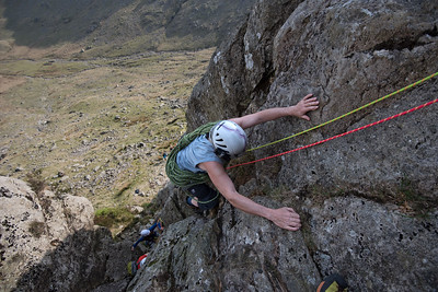 Raven Crag and Outside Face Route
