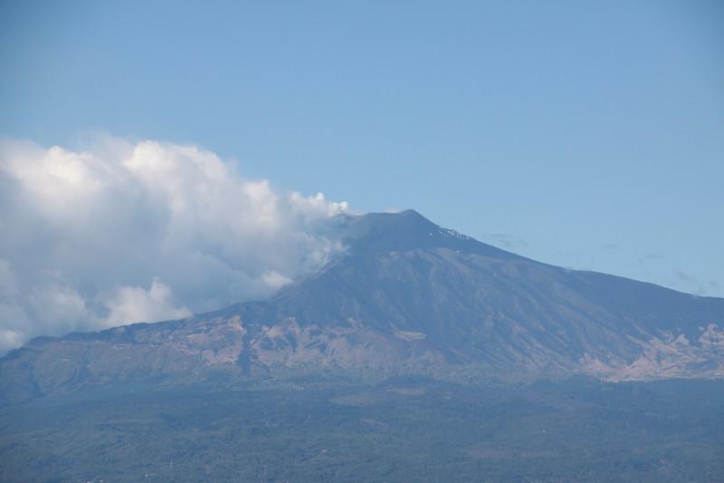 Mt Etna smoking
