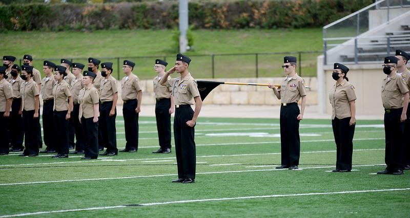 2021.10.20 - Lone Star Company Navy JROTC Annual Inspection