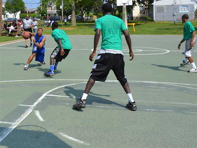 2011 Basketball at Newfield Park