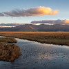Sunrise Clouds and First Light on Sierra Valley