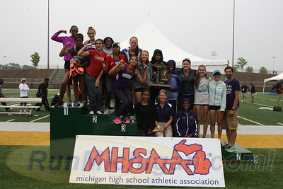 D1 Team Awards - 2016 MHSAA LP D1 TF Finals