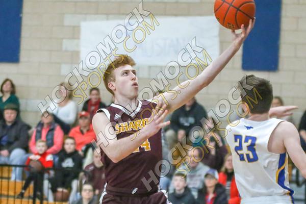 Sharon-Norwood Boys Basketball - 02-18-19