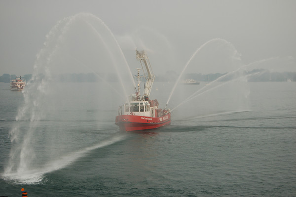 June 27, 2006 - Buffalo, NY + Toronto Fireboats