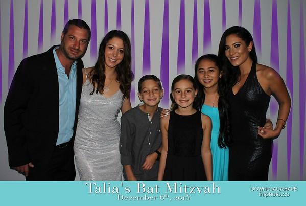 2015-12-06 Talia's Bat Mitzvah