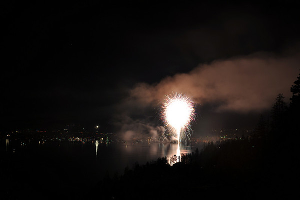 07.04.09: 4th of July fireworks over Grand Lake
