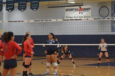 OE Girls Soph. Volleyball Vs West Aurora 2017