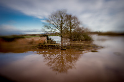 The River Severn In Flood