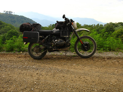 2009 BMW GS @ Ride up Rocky Top Tennessee