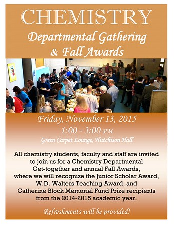 2015 Fall Get-Together and Awards Ceremony