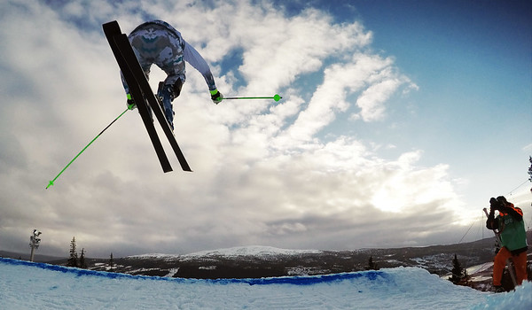 FEB 12-13, 2015 - ÅRE Audi ski cross World Cup training and qualifications