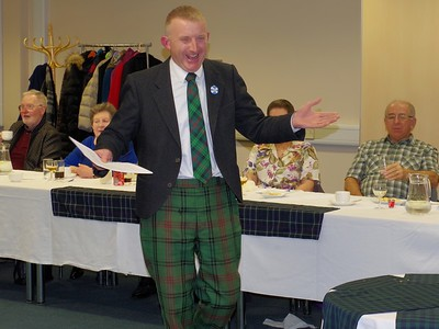 College Burns Supper