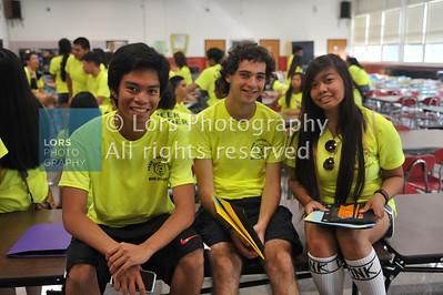 2014-09-05 Bergenfield HS Freshman Group Photo