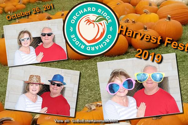 20191026 Orchard Ridge Harvest Fest