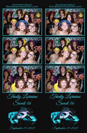 9/25/21 - Trinity Lorraine's Sweet 16