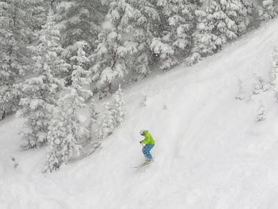 TR: Monarch Ski Area 2/1/2014