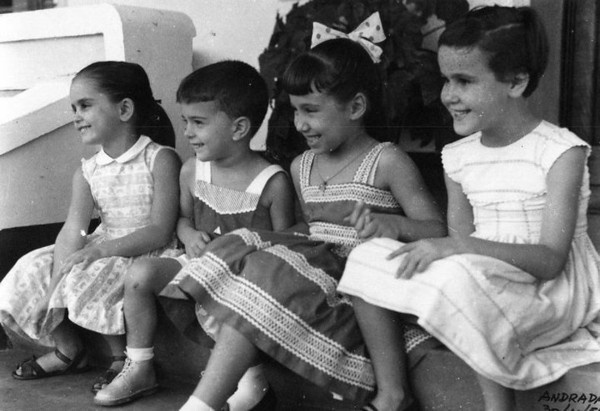 Andrada 1957 Carla Araújo , Nelrique Patrone, Misita Melo Abreu, Olga Araújo