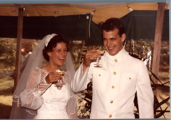 Jill and Brian's Wedding 1984