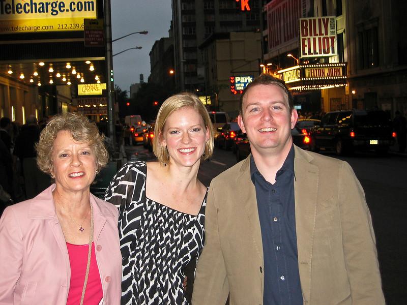 "Hannah, Joanna, Scott going see ""Billy Elliott"""