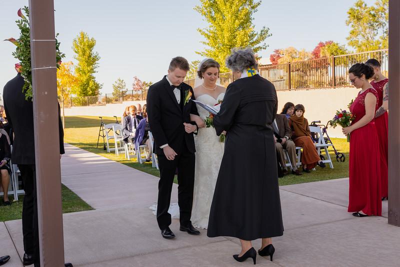 Sandia Hotel Casino New Mexico October Wedding Ceremony C&C-75.jpg