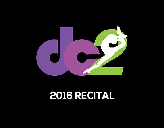 Recital 2016 Stage Shots