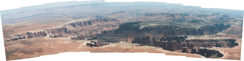 A 100-megapixel panoramic of 11 images.