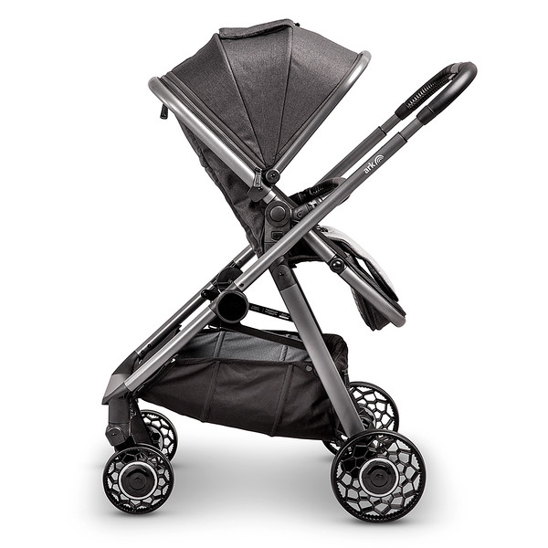 4 Ark Travel System Pushchair Mode Parent Facing Charcoal.jpg