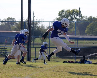 JH Football vs. Collinsville - Photos by Lee Smith