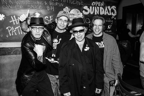 Serial Killers/Deadspot/Trained Attack Dogs/LiveNotOnEvil - North Star Bar - March 8, 2014