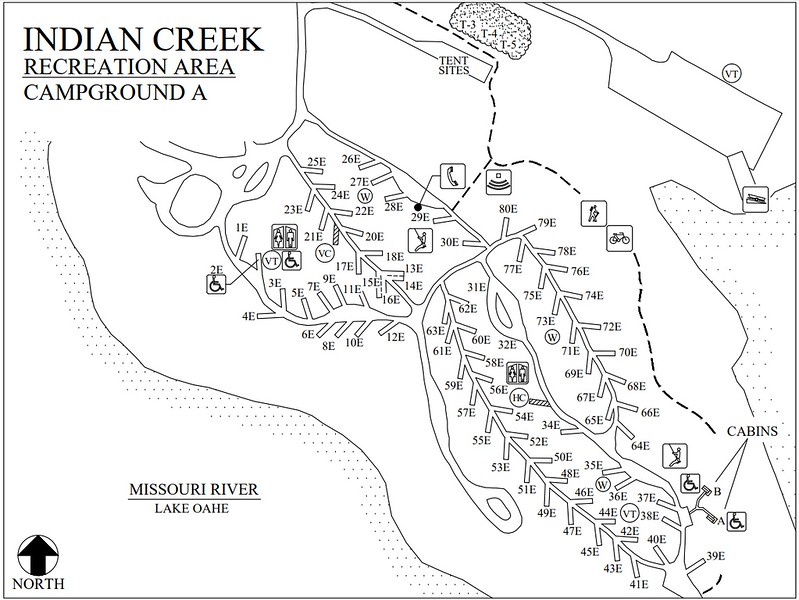 Indian Creek Recreation Area (Campground A)