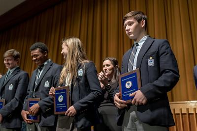 Winter Freshman & Junior Varsity Athletic Awards–March 6, 2020