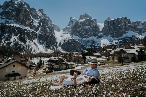 A + T | | Elopement Hochzeit in den Dolomiten & Venedig