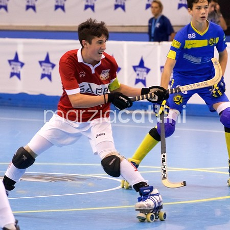 U17 Eurockey Cup 2017 - Correggio Hockey vs RSC Uttingen