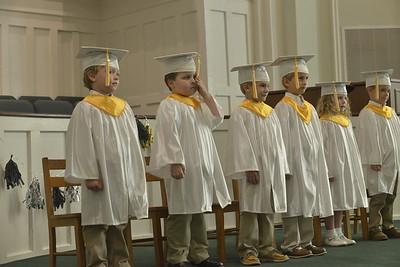 Clate Cannon Kindergarten Graduation 5/20/2018