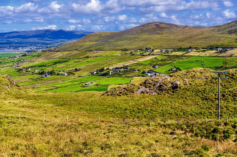 Cahergal Circular Sone Fort in the Ring of Kerry, Ireland