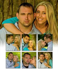 Tasha & Brandon collages